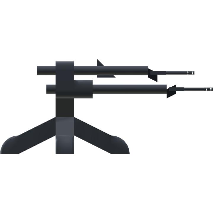 SimplePlanes | WWII Anti Aircraft gun