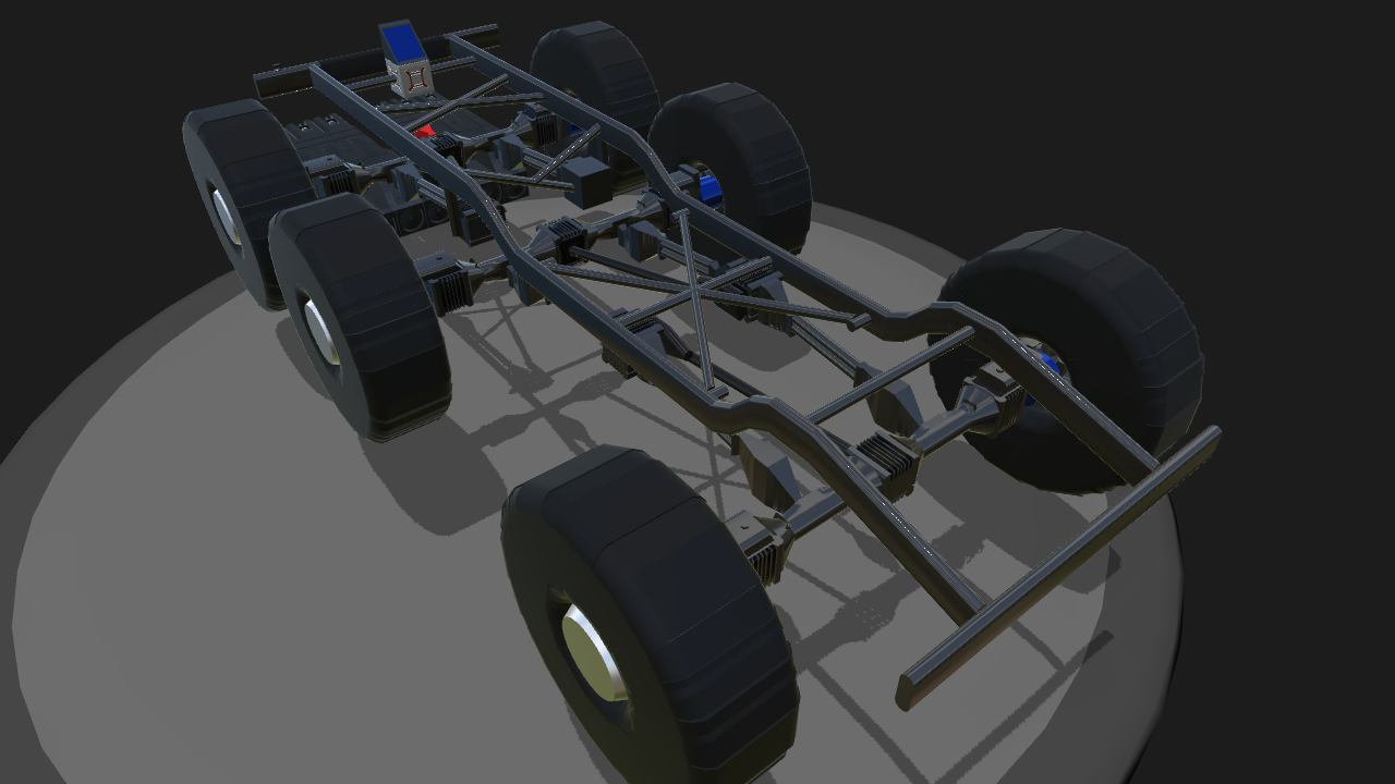 SimplePlanes | 6x6 Chassis