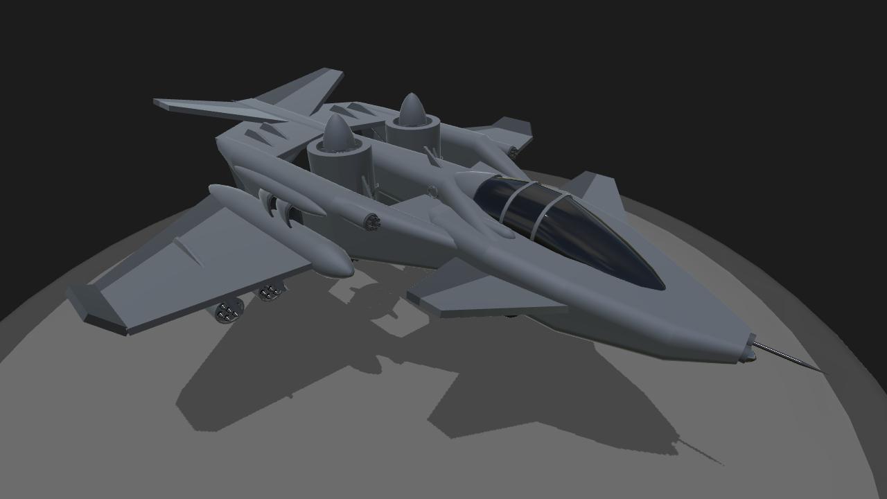 SimplePlanes   AV-13 Chimera VTOL