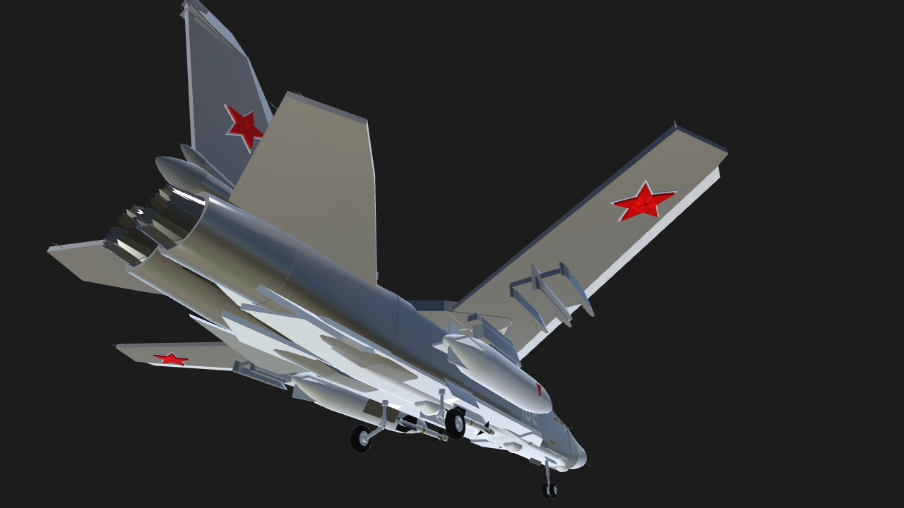 SimplePlanes | Sukhoi Su-24 Fencer by Frog
