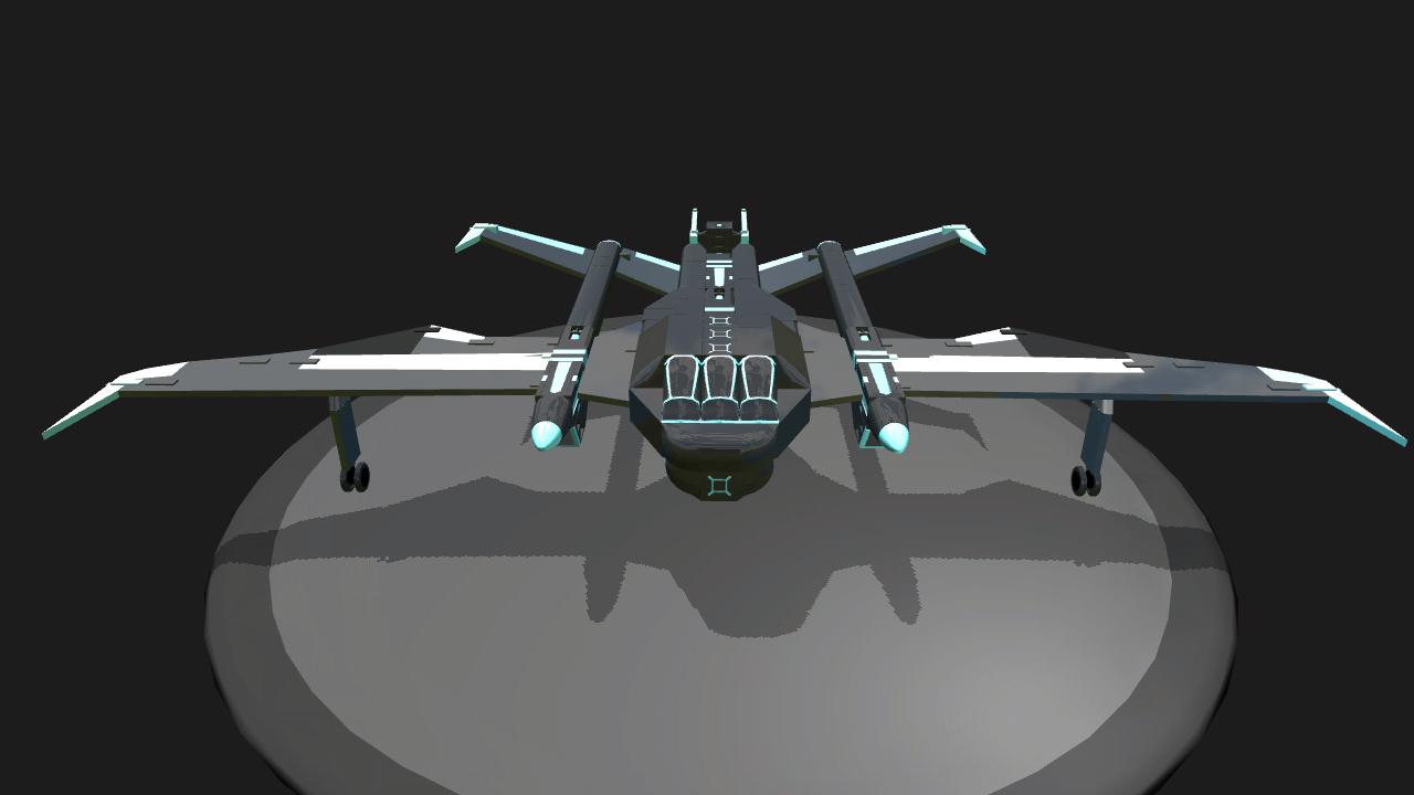 SimplePlanes   TRON: Legacy - Light Jet