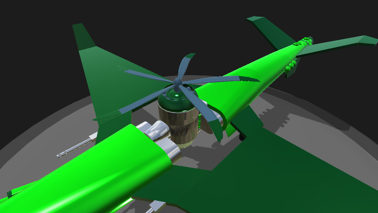 SimplePlanes | VTOL Drone! (For he who must not be named)