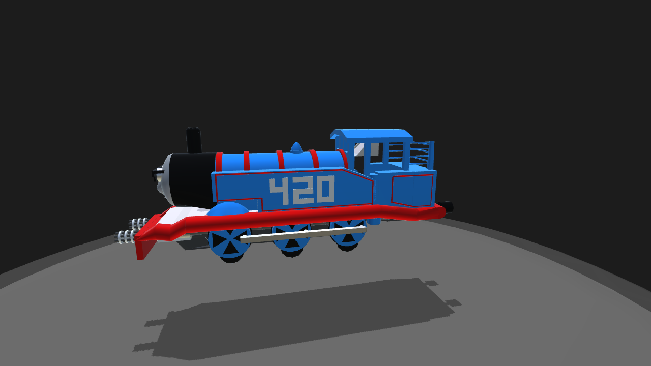 SimplePlanes | Thomas the (T)Dank Engine