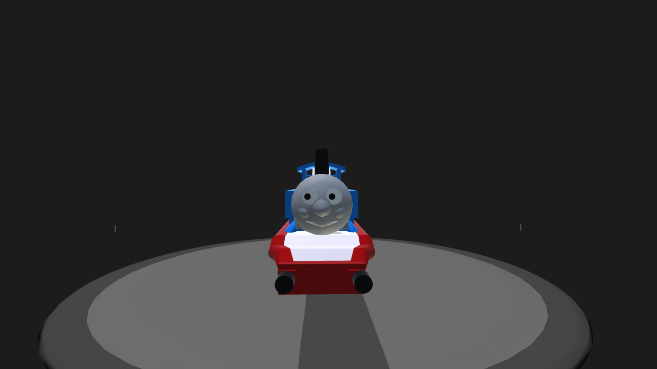 SimplePlanes | Thomas The Tank Engine With Carts (Non-Dank