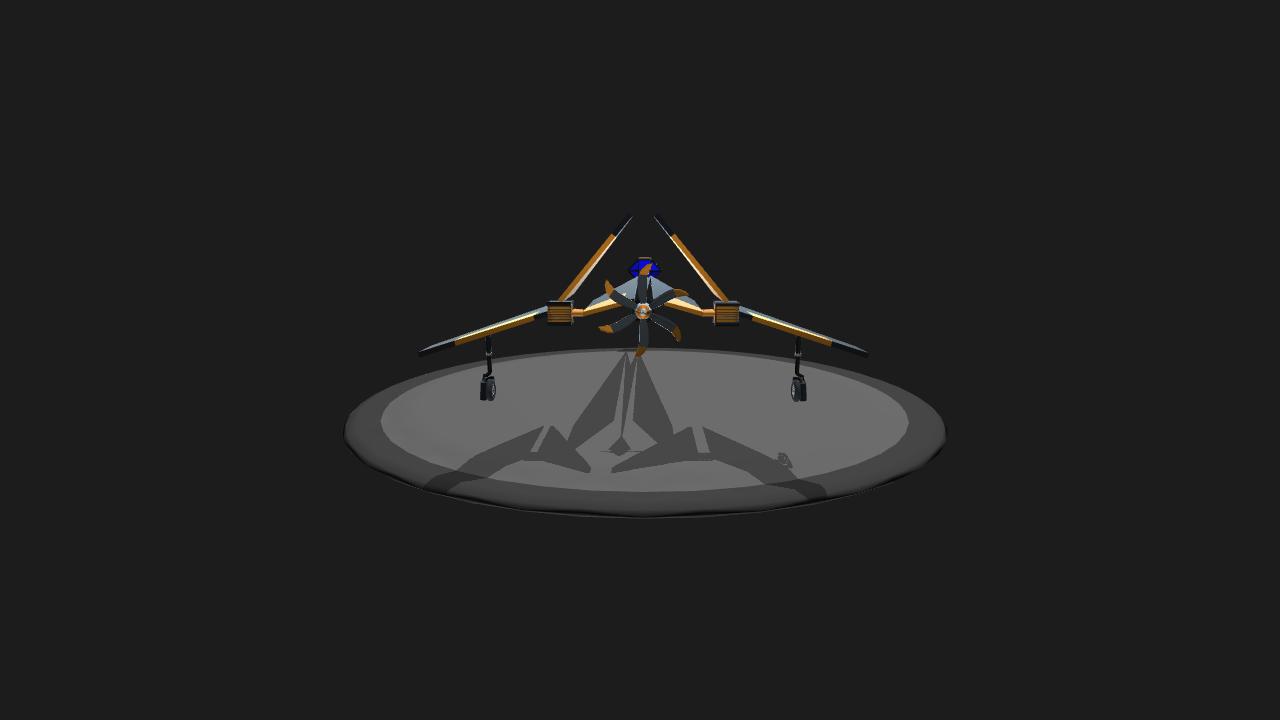 Simpleplanes Origami Spaceship Beta