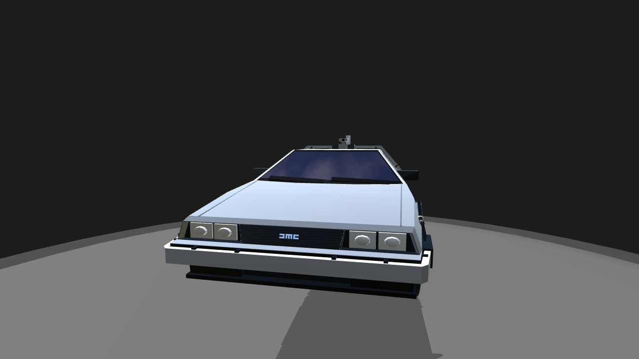 how to draw a delorean time machine