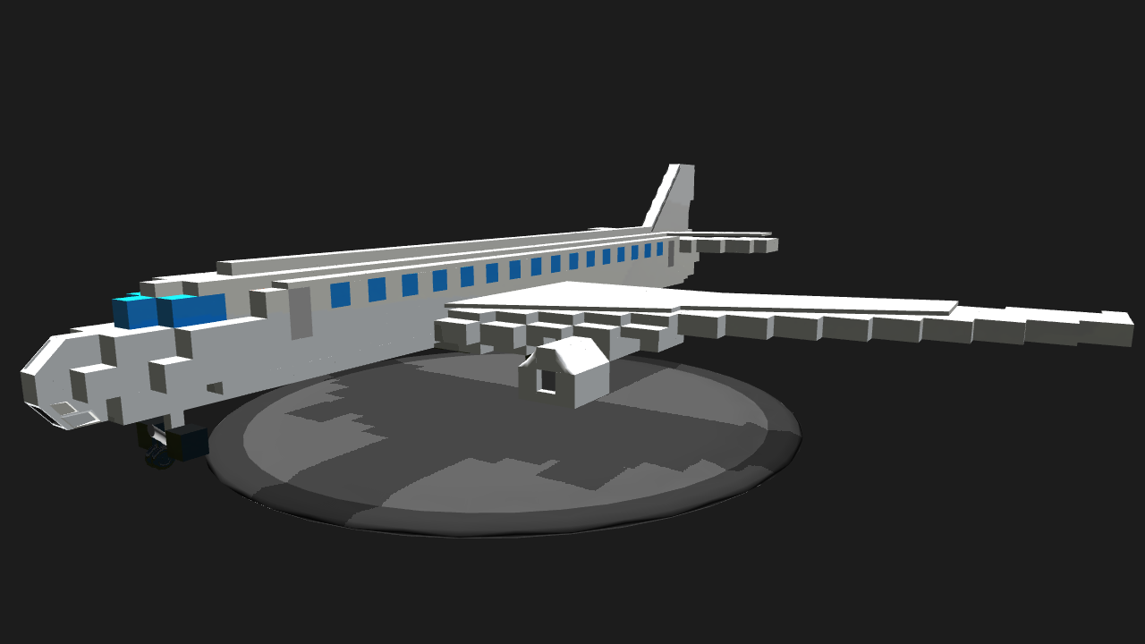 how to build a plane in minecraft