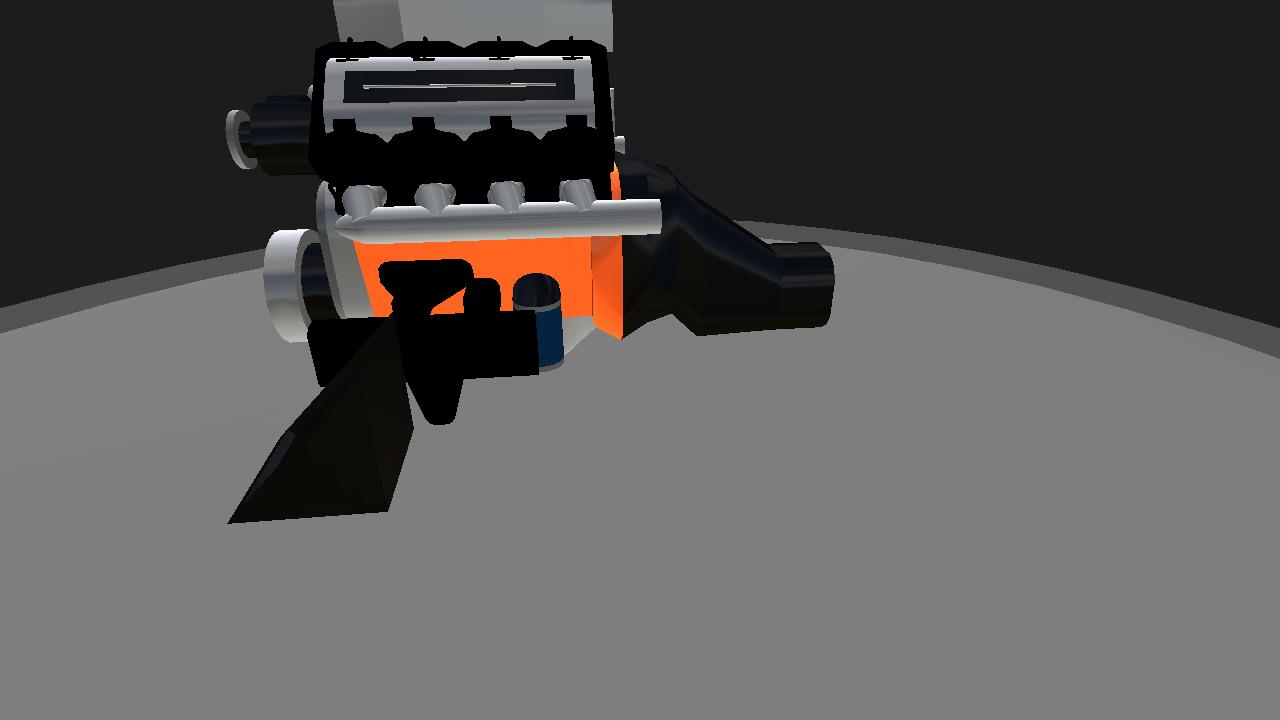 SimplePlanes | Hellcat Crate Engine