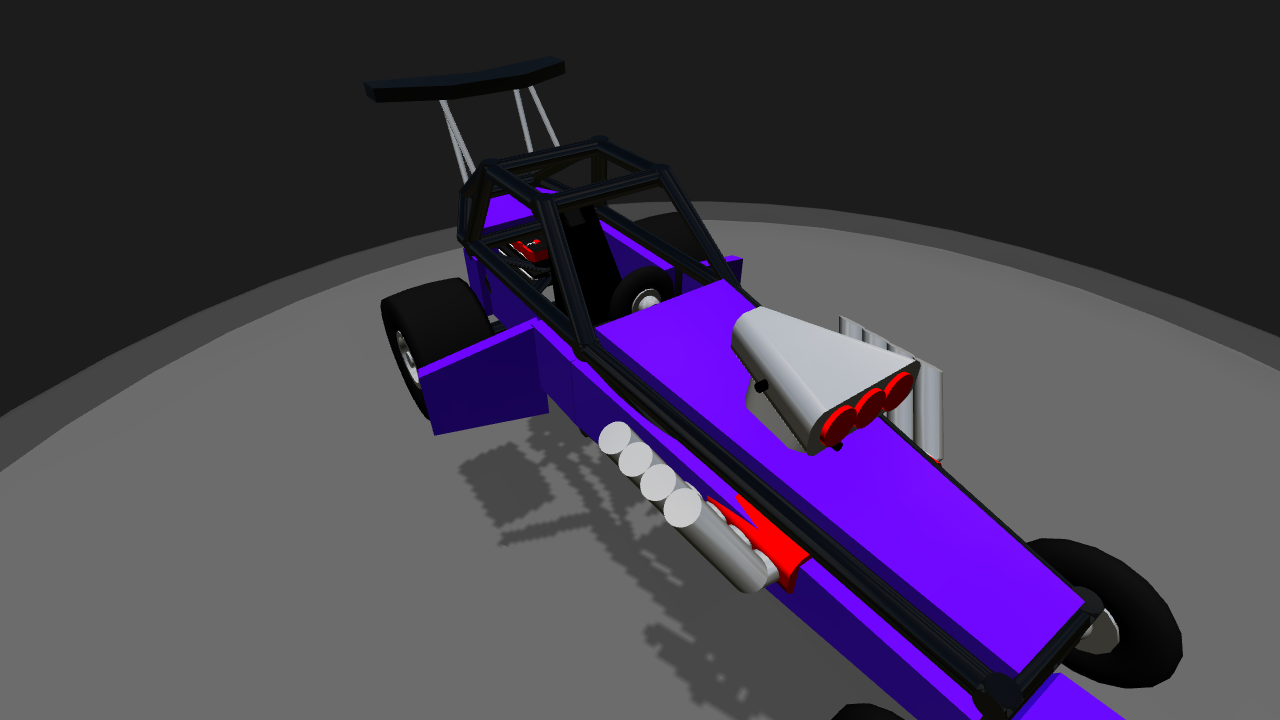 SimplePlanes | Rail Dragster Special