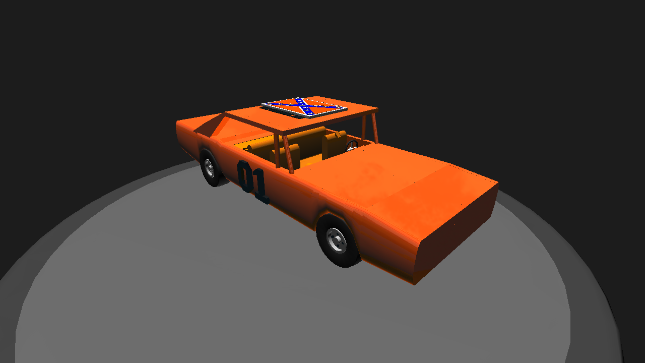 Simpleplanes 1968 Dodge Charger The General Lee