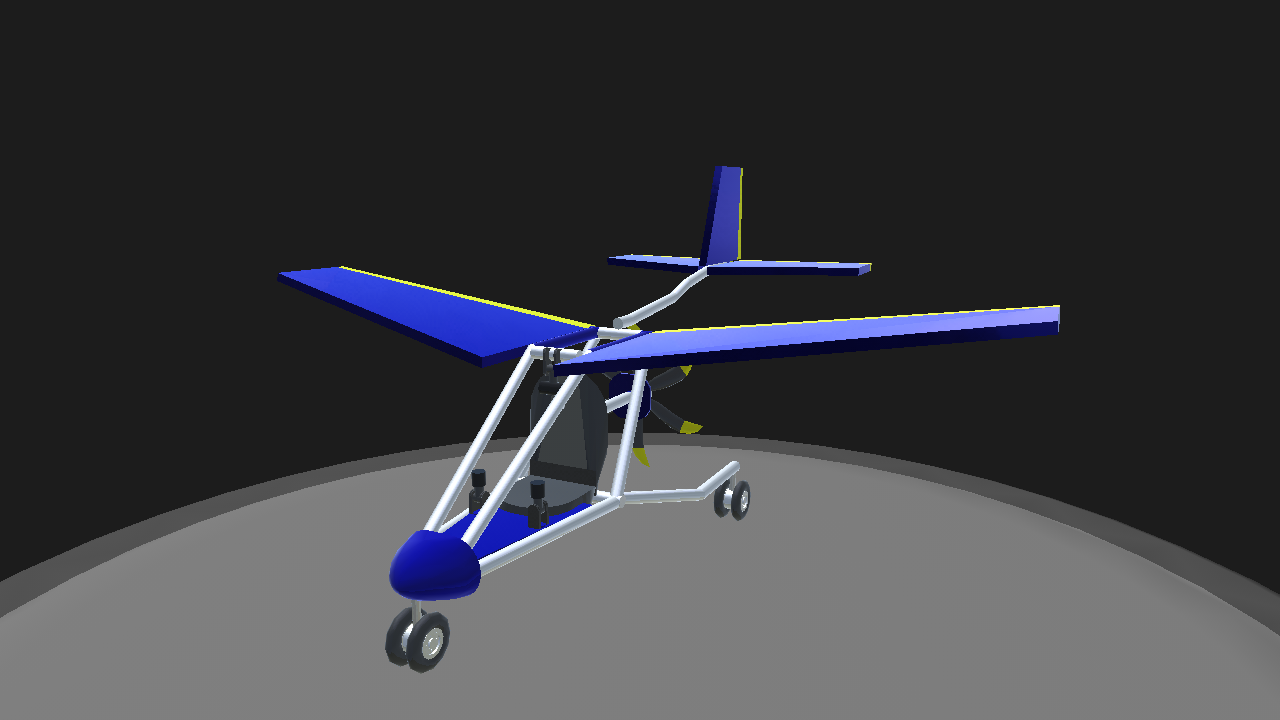 Nice Blue Bird Ultralight Aircraft