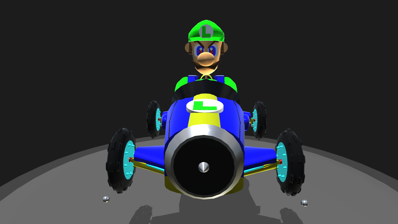 simpleplanes mario kart 8 luigi. Black Bedroom Furniture Sets. Home Design Ideas