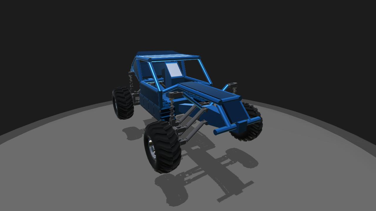 SimplePlanes | Dirt buggy