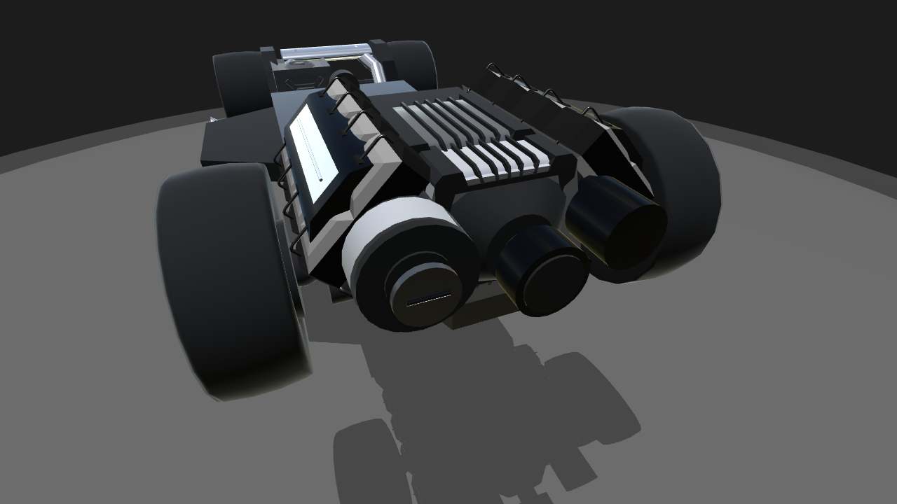 SimplePlanes | Drag Car Chassis Free To Use