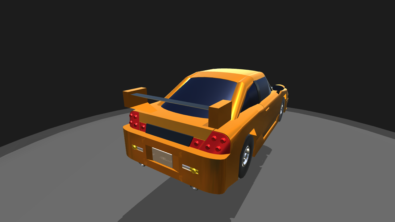 SimplePlanes Drift Sports Car - Simple sports car