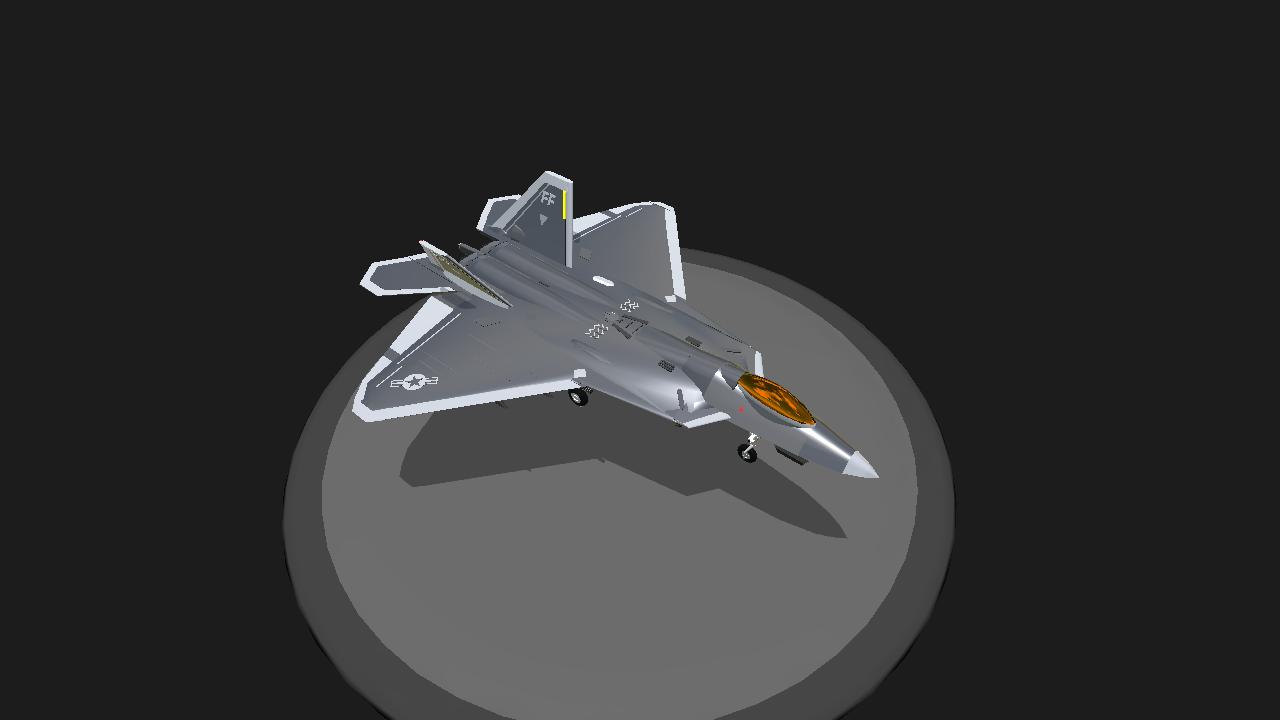 SimplePlanes | Lockheed Martin F-22 Raptor V3 0