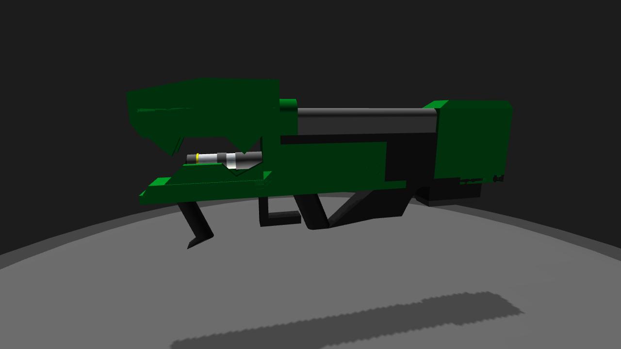 SimplePlanes   Halo spartan laser