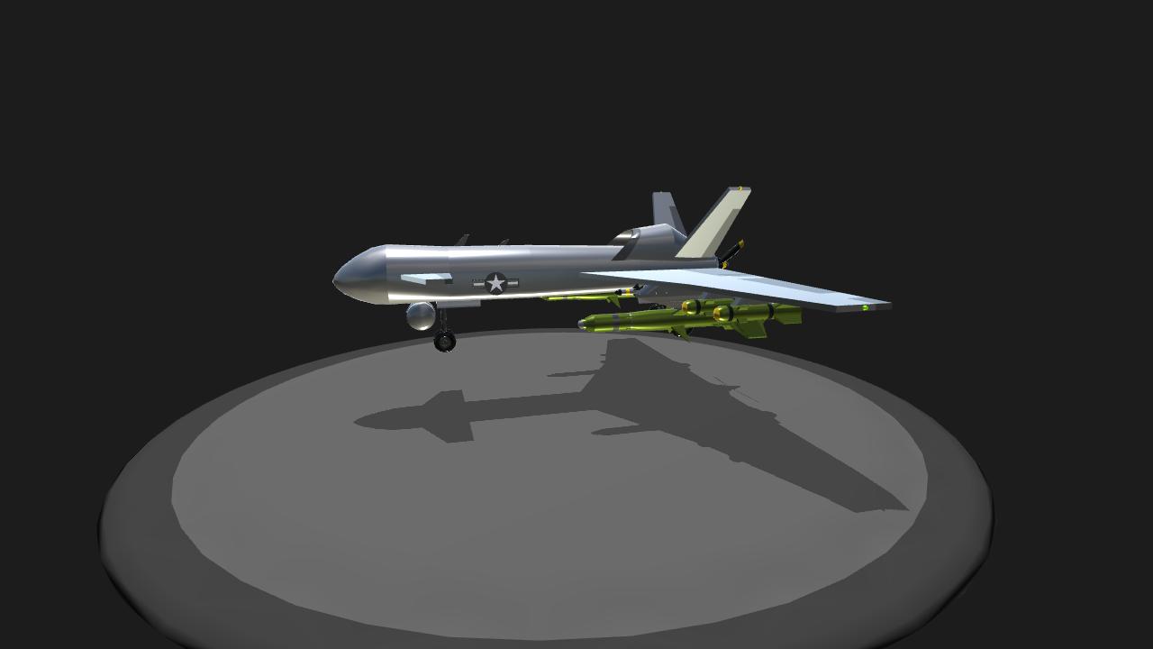 SimplePlanes | Apex Drakon (ARMA-3 APEX)
