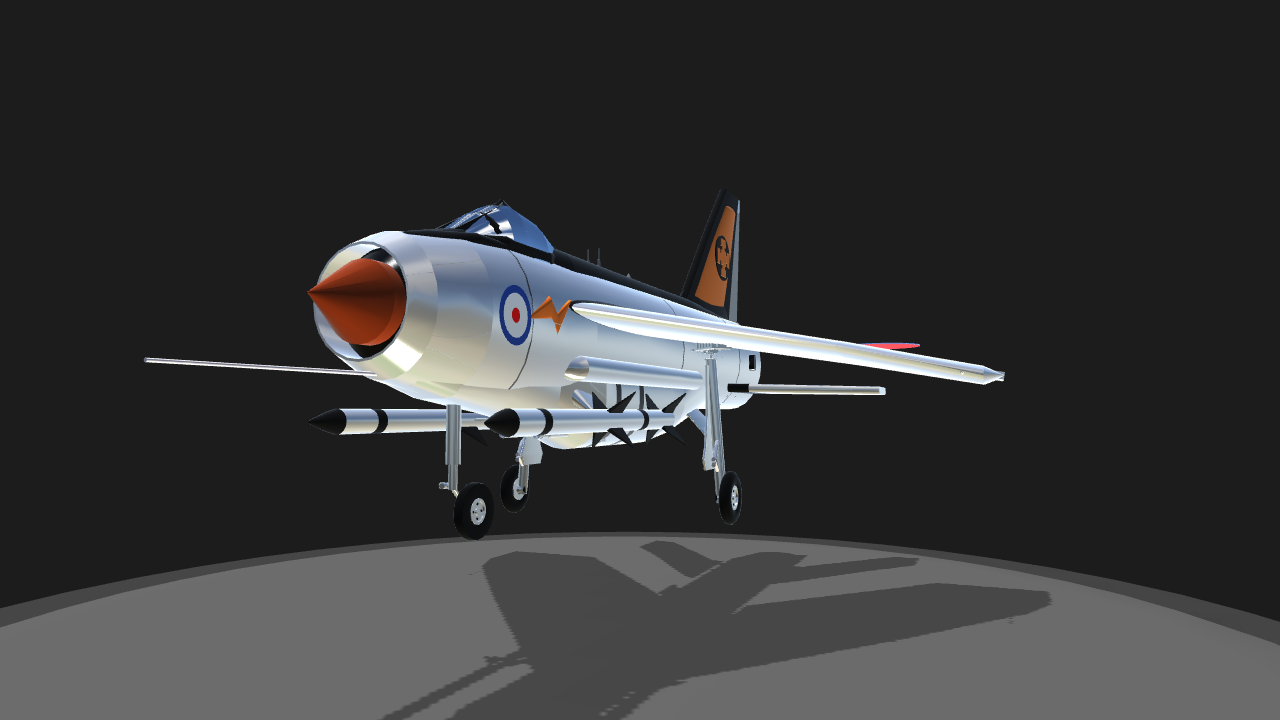 simpleplanes english electric lightning mk 2