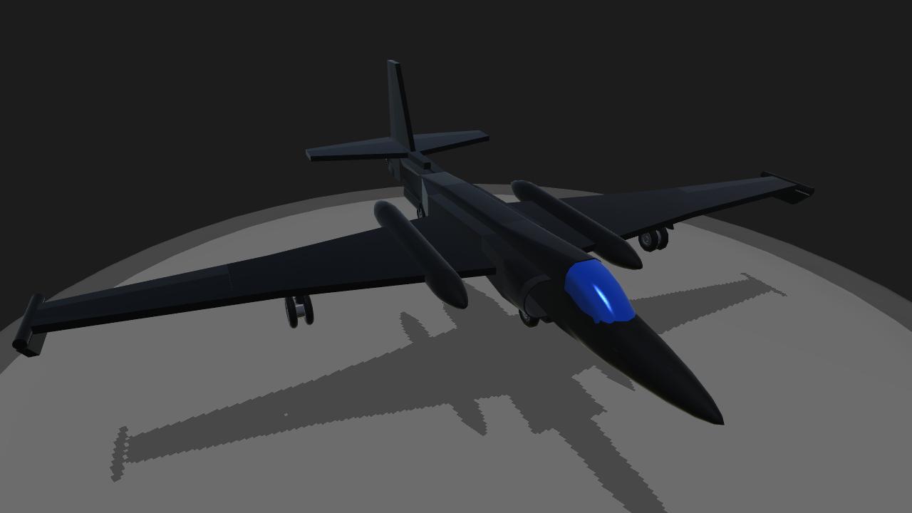 SimplePlanes   U2 Spy Plane