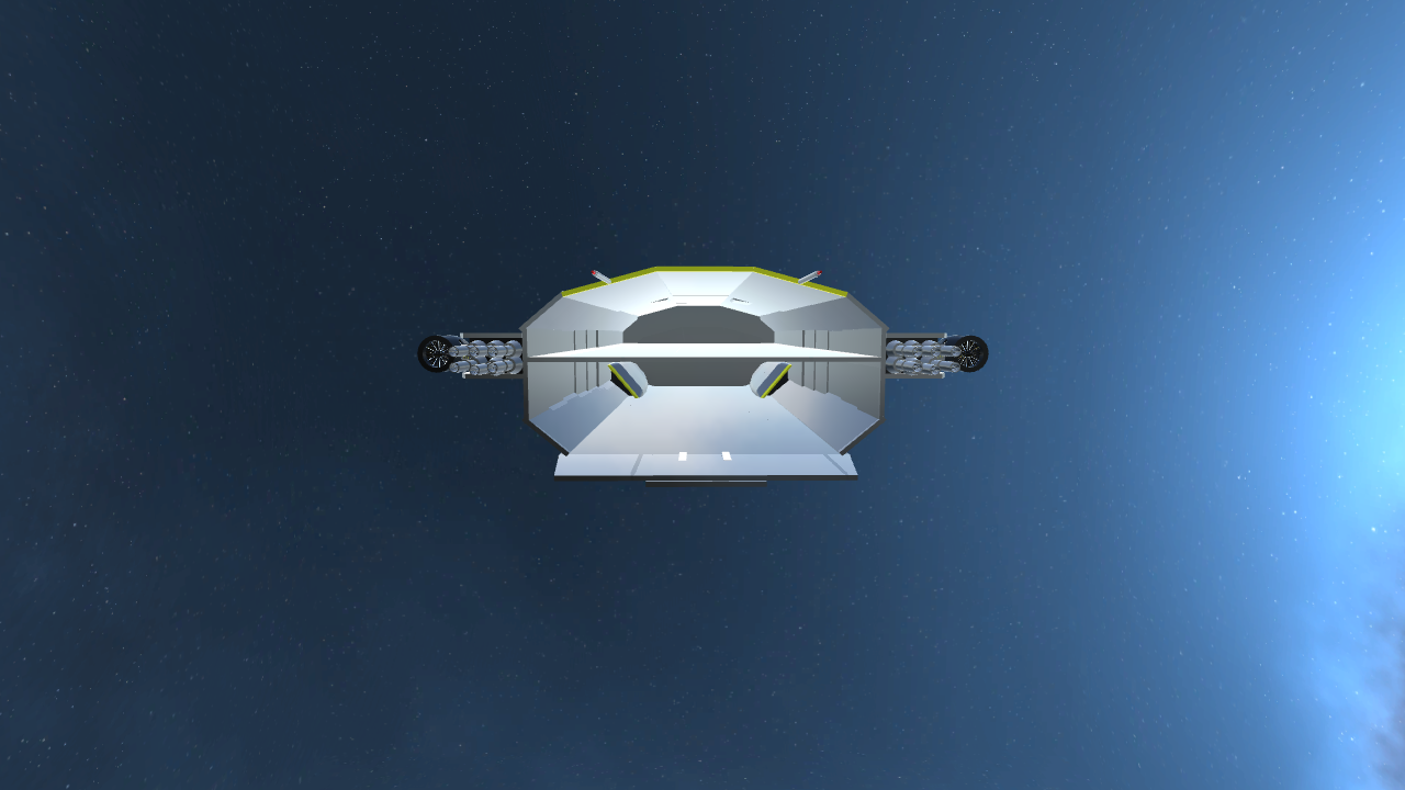 SimplePlanes | USS Freedom (Spacecraft carrier)