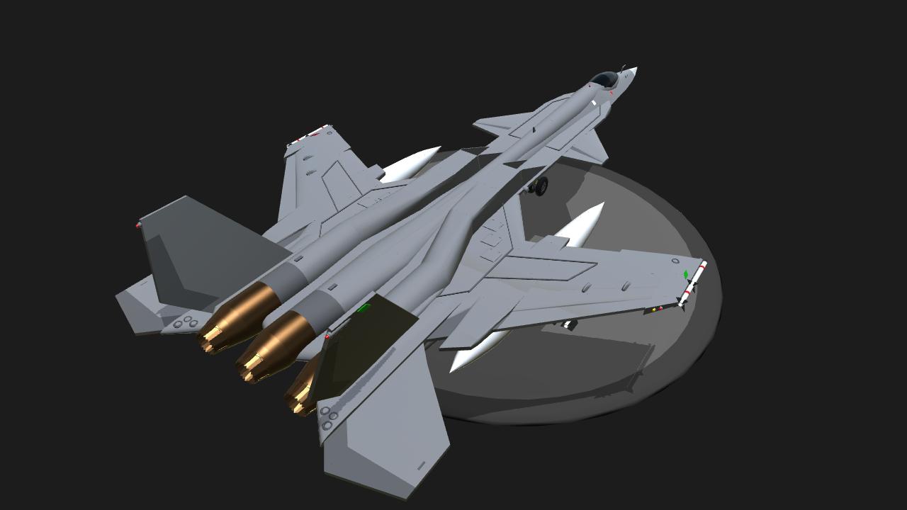 SimplePlanes | Fifth generation VTOL fighter jet