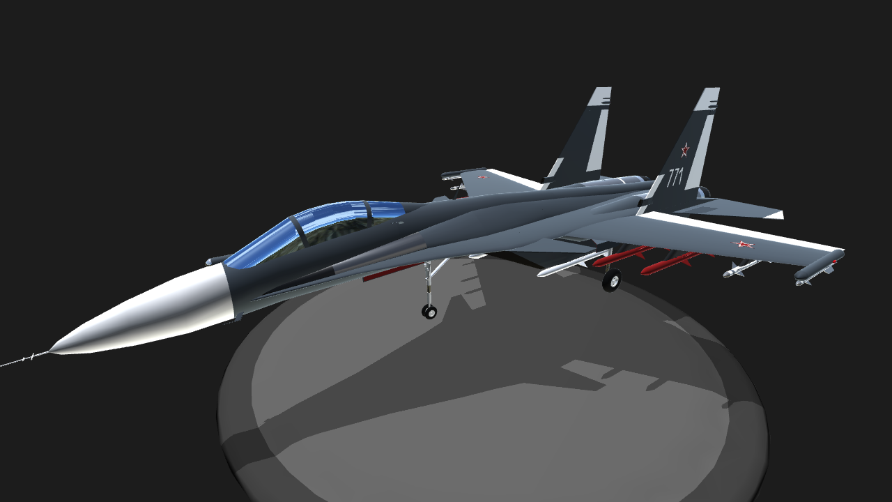 simpleplanes sukhoi su 37 terminator