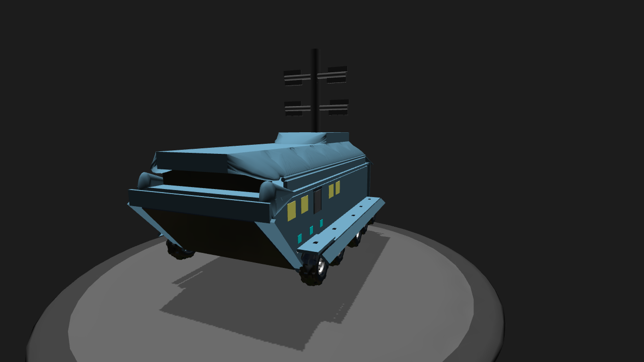 SimplePlanes | Tf2 robot troop carrier final edition