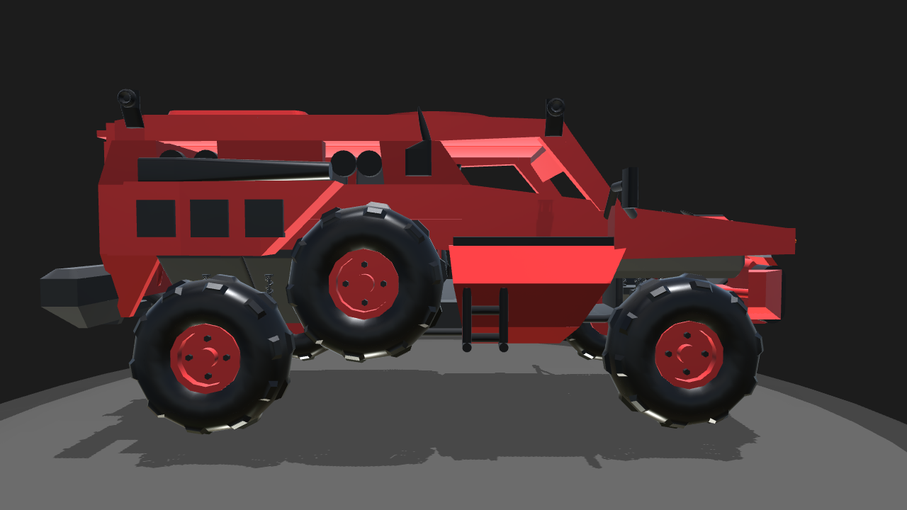 SimplePlanes | the marauder heavy armored vehicle