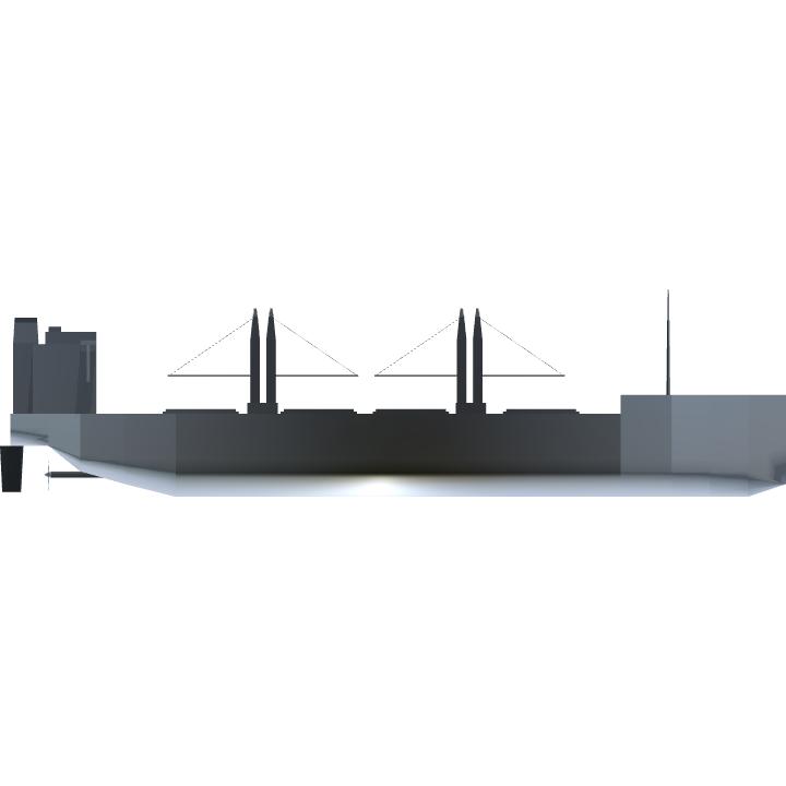 SimplePlanes | QC-14 general cargo vessel