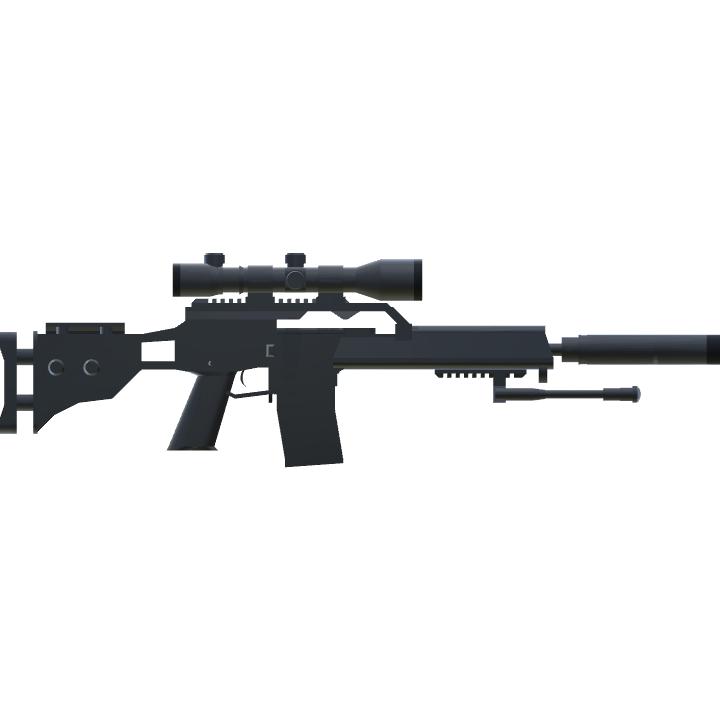 SimplePlanes | HK G37 7 62 NATO Precision Rifle