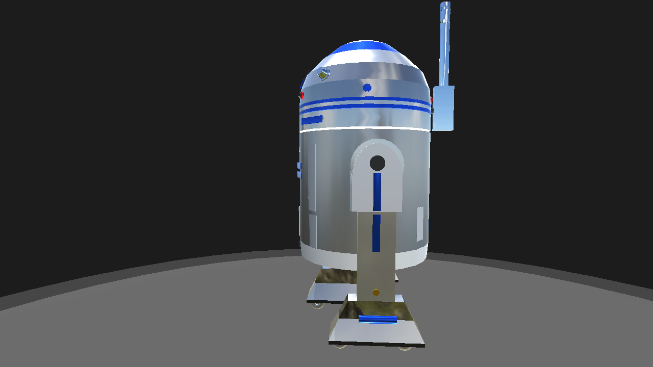 R2d2 Top View