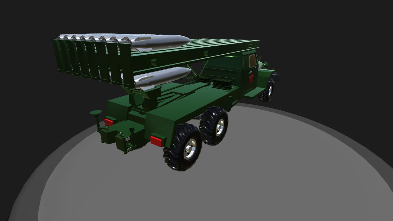 SimplePlanes   [Mobile friendly]Katyusha rocket