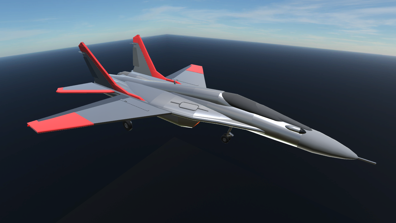 SimplePlanes | MIG-33 Super Fulcrum - 485.5KB