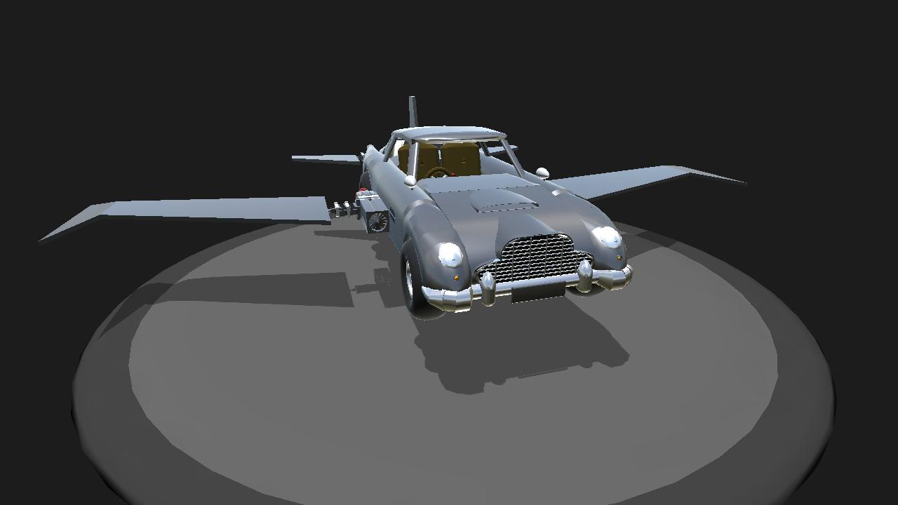 Simpleplanes Flying Aston Martin Db5