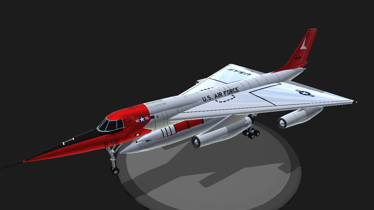 Convair b 58a hustler