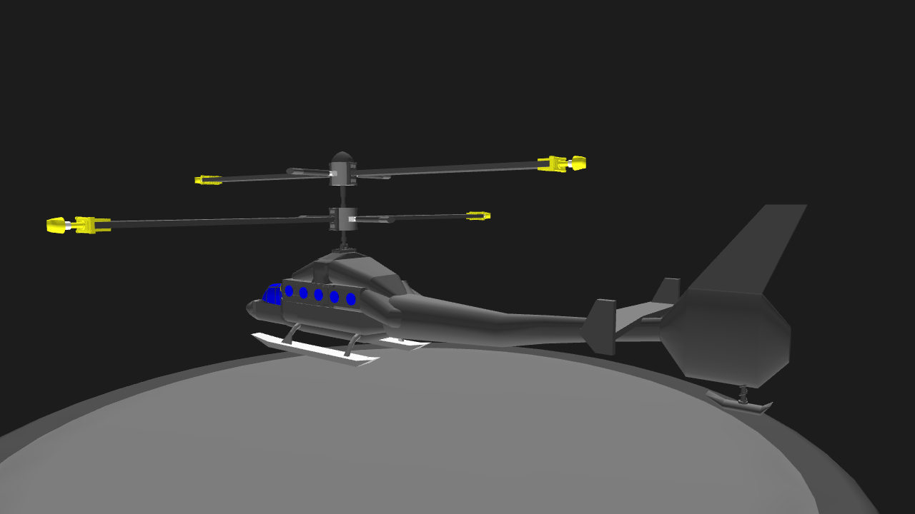 SimplePlanes | Hummingbird 1 Helicopter