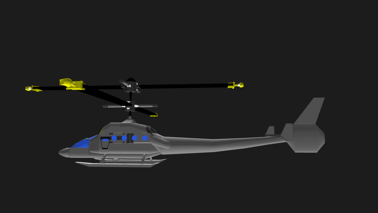 SimplePlanes | HE-3 Super Hummingbird (Helicopter/Drone