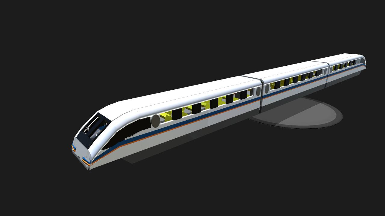 How Do Maglev Trains Work >> SimplePlanes | Shanghai Maglev Train (Detailed Interior)