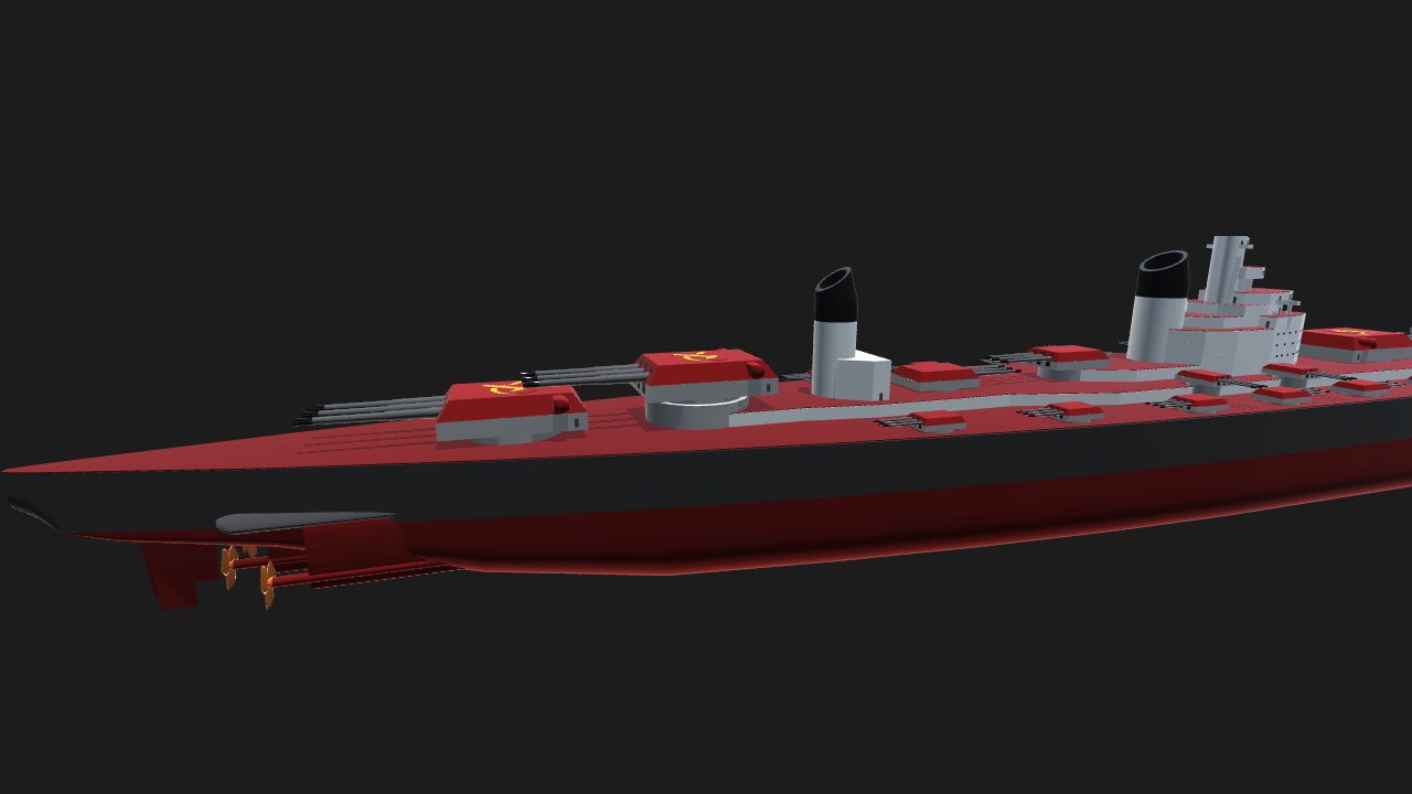 SimplePlanes | 1/2 scale super battleship