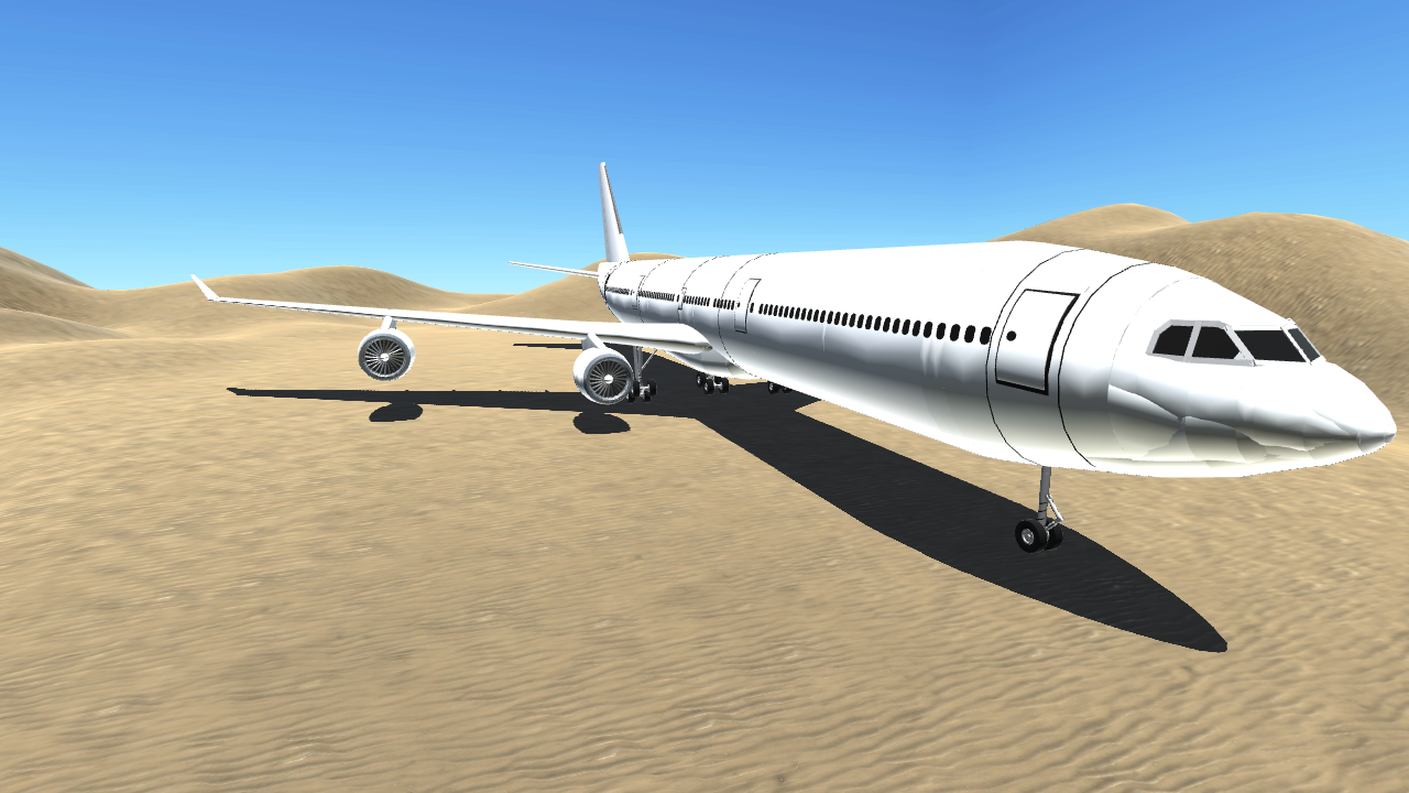 simpleplanes airbus a340 600 v2
