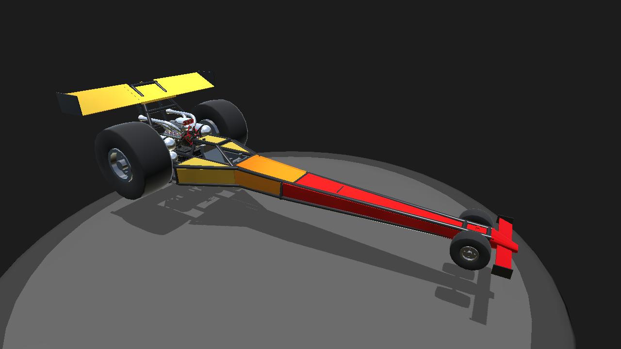 SimplePlanes   Top Fuel Drag Racer V3.2