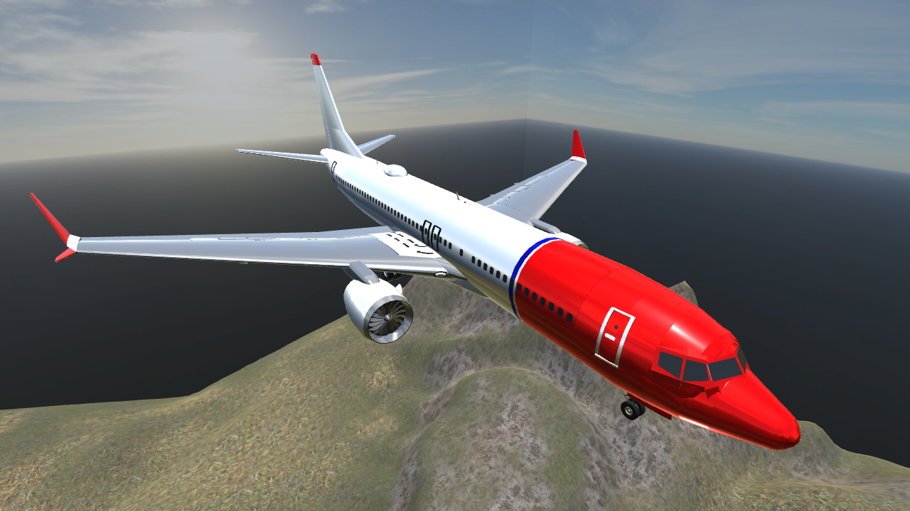 SimplePlanes | Boeing 737 MAX 8 (Norwegian Air Shuttle)