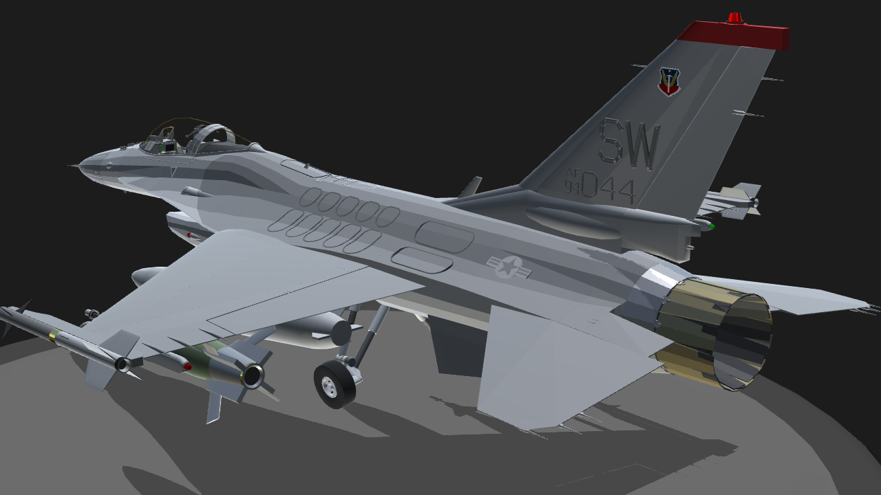 SimplePlanes | General Dynamics | F-16 | Fighting Falcon
