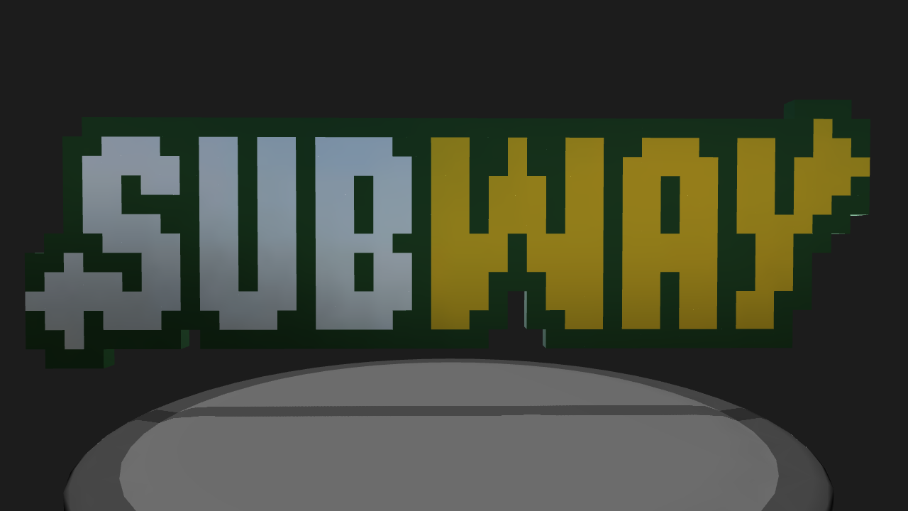 Simpleplanes Subway Pixel Art