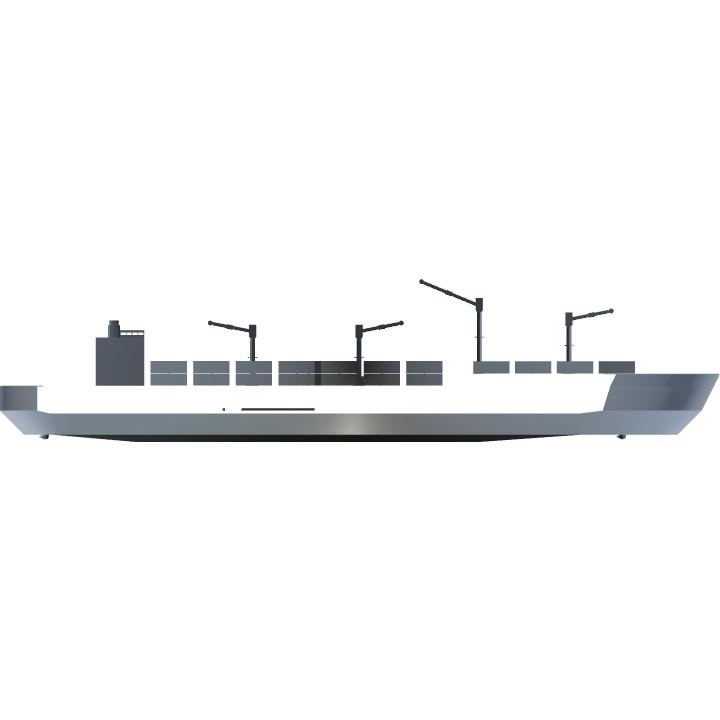 SimplePlanes | Cargo Ship WIP