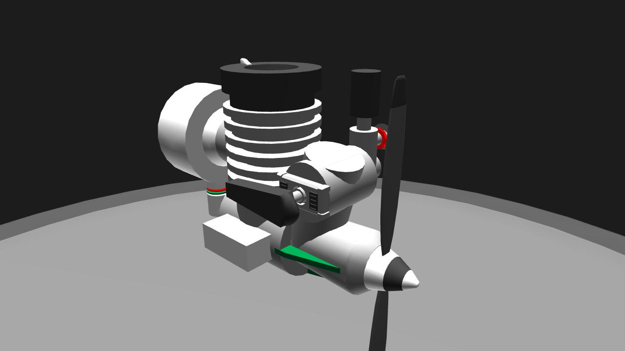 2 Stroke Glow Engine