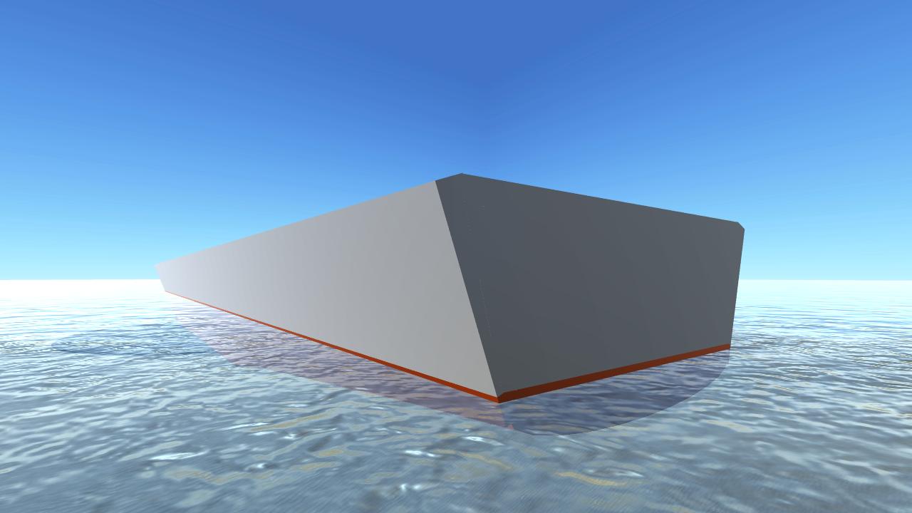 SimplePlanes   Large Modular Ship Hull