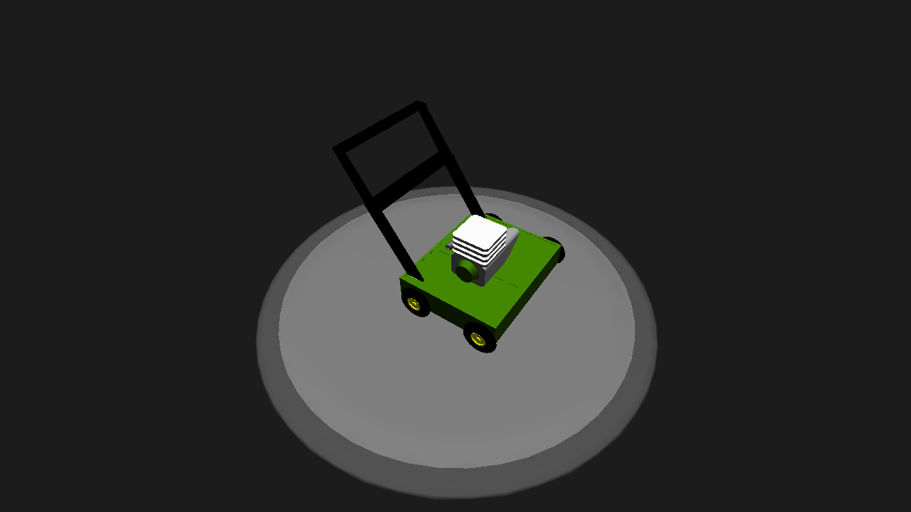 simpleplanes flying lawnmower vine