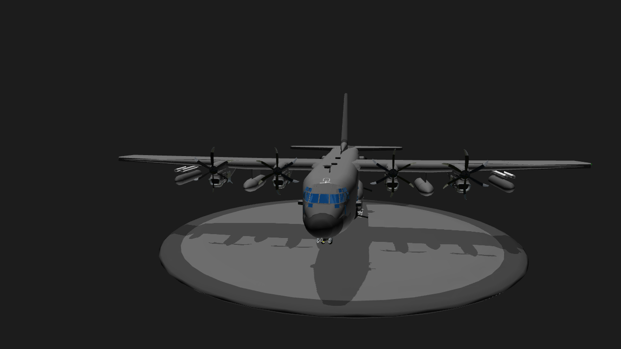 simpleplanes ac 130 flares with 2 refills